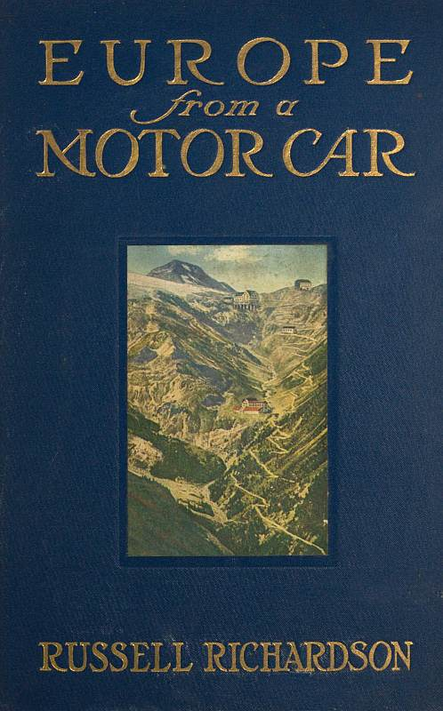 Russell Richardson Europe from a Motor Car