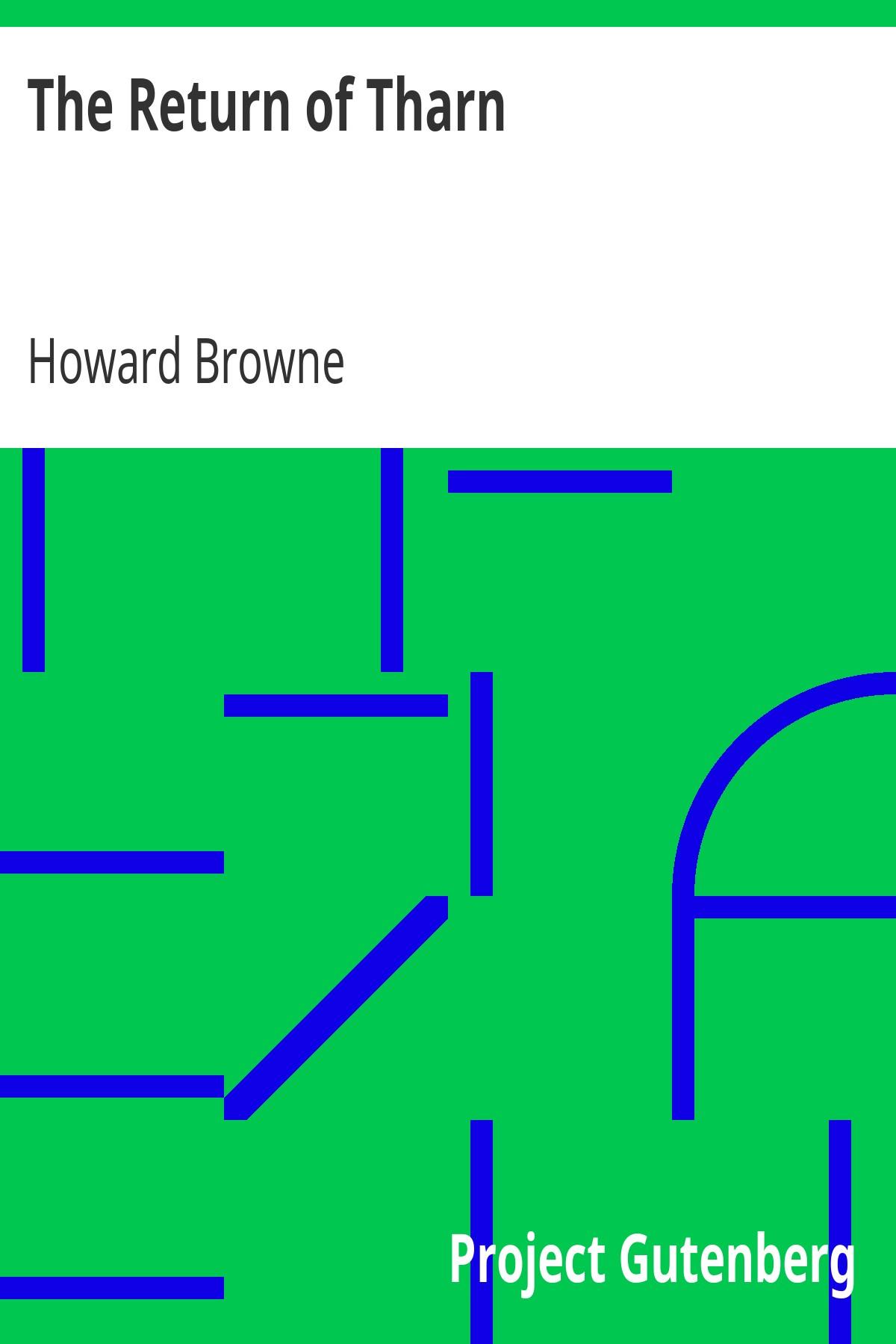 Howard Browne The Return of Tharn
