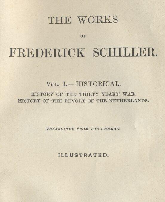 Friedrich Schiller The Thirty Years War — Complete